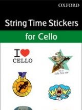 Cello Time stickers