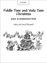 Fiddle and Viola Time Christmas Piano Accompaniments
