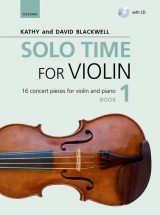 Solo Time for Violin, book 1 + CD
