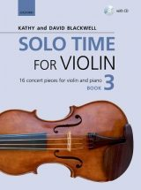 Solo Time for Violin, book 3 + CD
