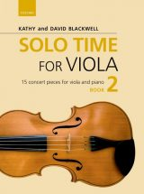 Solo Time for Viola, book 2