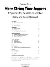 More String Time Joggers - Double Bass